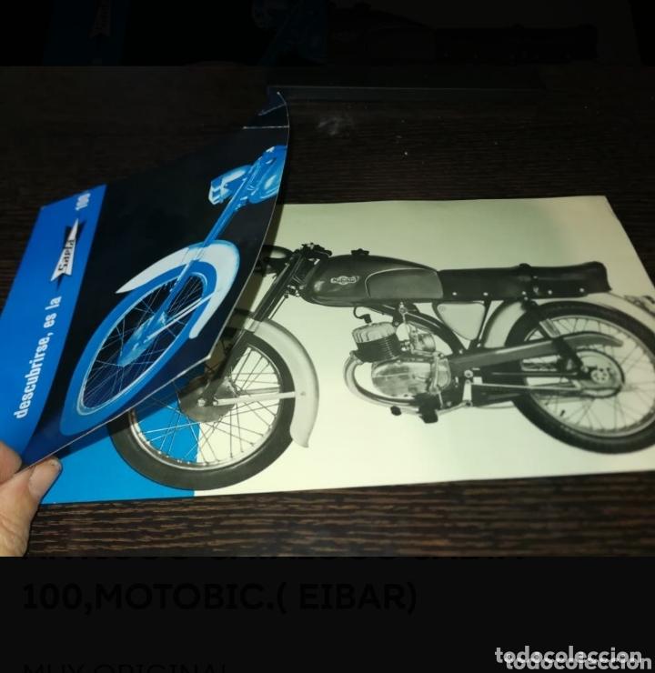 Coches y Motocicletas: ANTIGUO CATALOGO SAETA 100,MOTOBIC.( EIBAR) - Foto 2 - 174194958