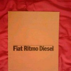 Coches y Motocicletas: CATÁLOGO FIAT RITMO . FR . 1980. Lote 174271849