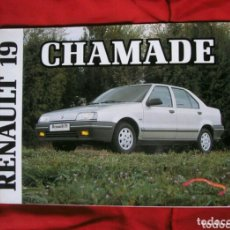 Coches y Motocicletas: MANUAL RENAULT 19 CHAMADE . 1990. Lote 174271973