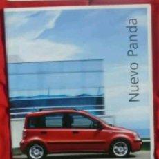 Coches y Motocicletas: CATÁLOGO FIAT PANDA . 2003. Lote 174731169