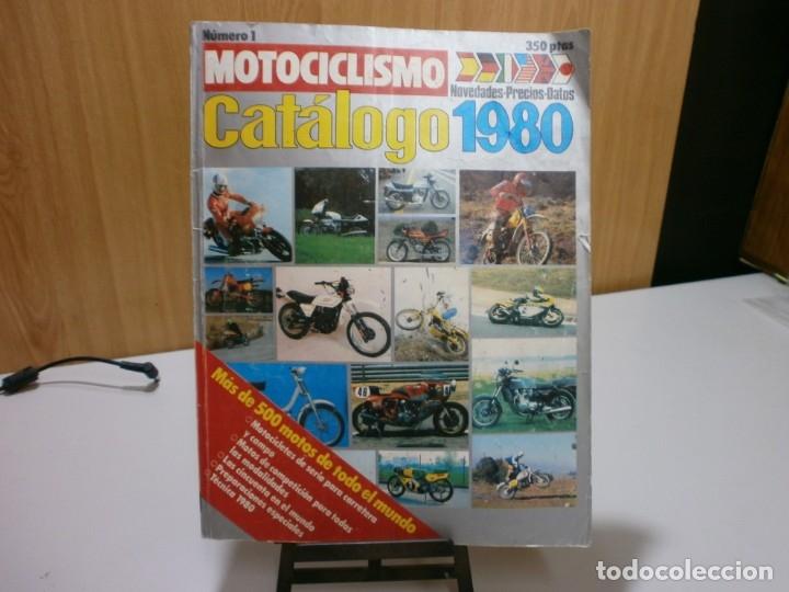 REVISTA MOTOCICLIMO CATALOGO 1980 (Coches y Motocicletas Antiguas y Clásicas - Catálogos, Publicidad y Libros de mecánica)