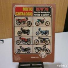 Coches y Motocicletas: REVISTA MOTO CATALOGO 1978 79. Lote 174965588