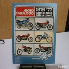 Coches y Motocicletas: REVISTA MOTO CATALOGO 1976 77. Lote 174965638