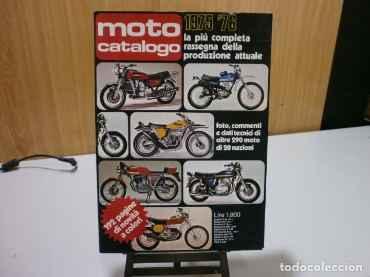 REVISTA MOTO CATALOGO 1975 76 (Coches y Motocicletas Antiguas y Clásicas - Catálogos, Publicidad y Libros de mecánica)