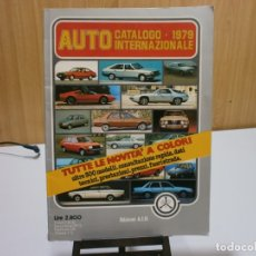 Coches y Motocicletas: REVISTA AUTO CATALOGO 1979. Lote 174965710