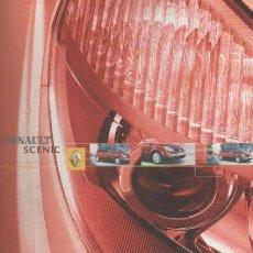 Coches y Motocicletas: CATALOGO RENAULT SCENIC ENERO 2004. Lote 174985185