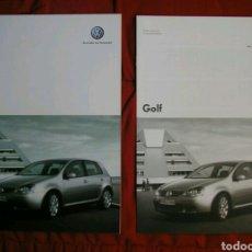 Coches y Motocicletas: CATÁLOGO VOLKSWAGEN / VW GOLF V . 2005. Lote 174995897