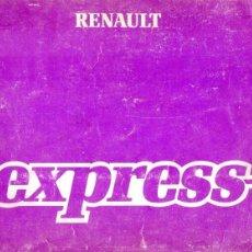 Coches y Motocicletas: EXPRESS MANUAL CONDUCTOR INSTRUCCIONES DE USO Y MANTENIMIENTO 1987. Lote 175031340