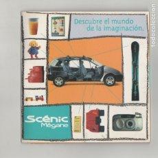 Coches y Motocicletas: CD RENAULT SCENIC MEGANE DESCUBRE EL MUNDO DE LA IMAGINACION. Lote 175286442