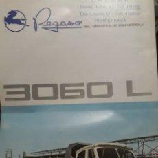 Coches y Motocicletas: CAMION PEGASO 3060L. Lote 175287453