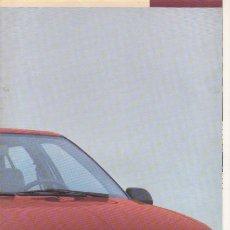 Coches y Motocicletas: CATALOGO RENAULT 19 AL ABRIRLO SE FORMA UN POSTER DE 42X60. Lote 175365647