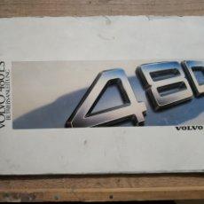 Coches y Motocicletas: MANUAL VOLVO 480ES DEL 87 EN HOLANDES. Lote 175441457