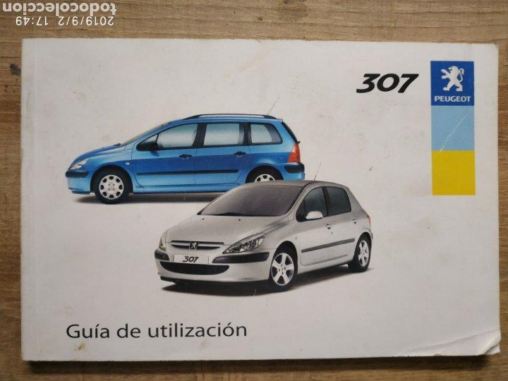 MANUAL PEUGEOT 307 EN ESPAÑOL DEL 03 (Coches y Motocicletas Antiguas y Clásicas - Catálogos, Publicidad y Libros de mecánica)
