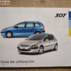 Coches y Motocicletas: MANUAL PEUGEOT 307 EN ESPAÑOL DEL 03. Lote 175444350