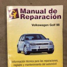 Coches y Motocicletas: VOLKSWAGEN GOLF 98. MANUAL DE REPARACIÓN (INFORMACIÓN TÉCNICA PARA LAS REPARACIONES,. Lote 175447195