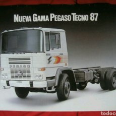Coches y Motocicletas: CATÁLOGO PEGASO TECNO 1987. Lote 175452144