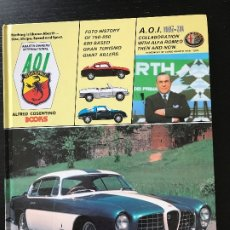 Coches y Motocicletas: ABARTH AOI OWNERS INTERNATIONAL ALFRED COSENTINO BOOKS - 005-90 - FIAT ALFA ROMEO LANCIA. Lote 175462982
