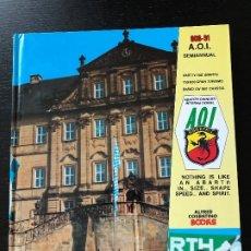 Coches y Motocicletas: ABARTH AOI OWNERS INTERNATIONAL ALFRED COSENTINO BOOKS - 008-91 - FIAT ALFA ROMEO LANCIA. Lote 175463474