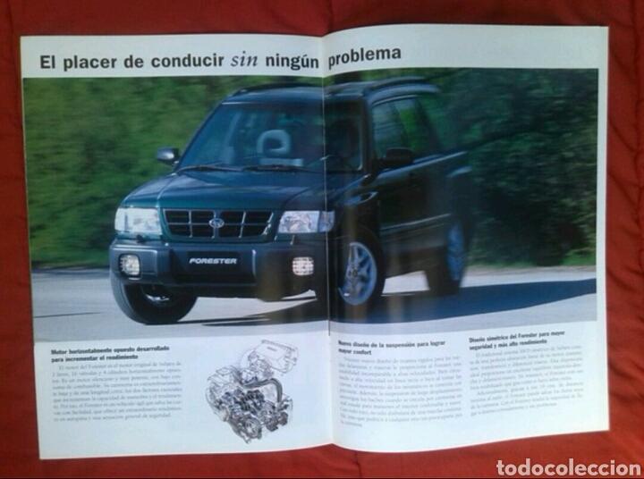 Coches y Motocicletas: Catálogo Subaru Forester . 1998 - Foto 2 - 175504959