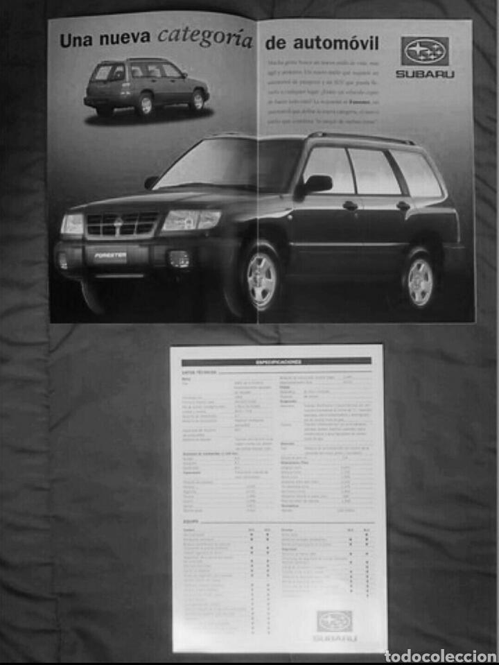 Coches y Motocicletas: Catálogo Subaru Forester . 1998 - Foto 4 - 175504959