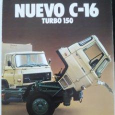 Coches y Motocicletas: CATALOGO BARREIROS DODGE C16. Lote 175726022