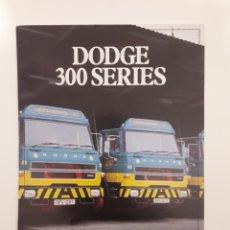 Coches y Motocicletas: DODGE BARREIROS CHRYSLER 1980. Lote 175728525