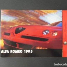 Coches y Motocicletas: CATALOGO GAMA ALFA ROMEO 1995. Lote 175736193