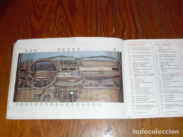 Coches y Motocicletas: PEUGEOT 305 - MANUAL MANTENIMIENTO - 1979 - - Foto 2 - 175796225