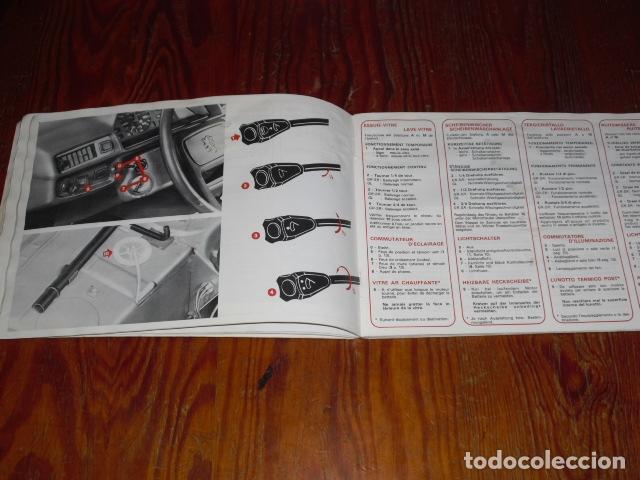 Coches y Motocicletas: PEUGEOT 305 - MANUAL MANTENIMIENTO - 1979 - - Foto 3 - 175796225