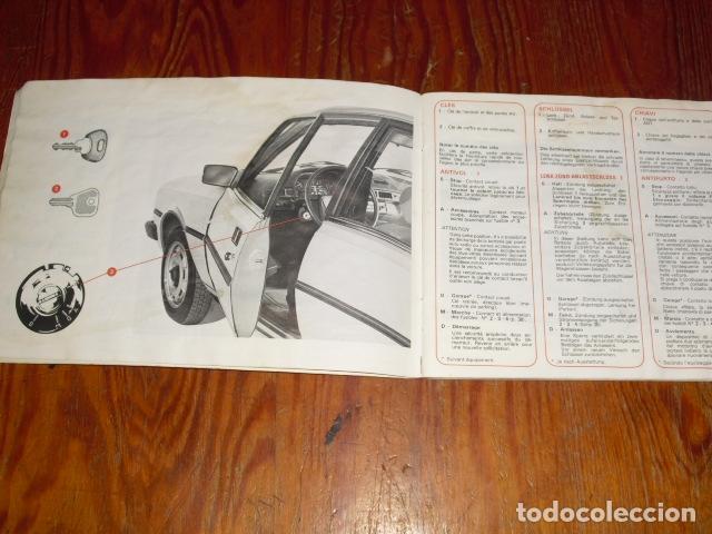 Coches y Motocicletas: PEUGEOT 305 - MANUAL MANTENIMIENTO - 1979 - - Foto 5 - 175796225