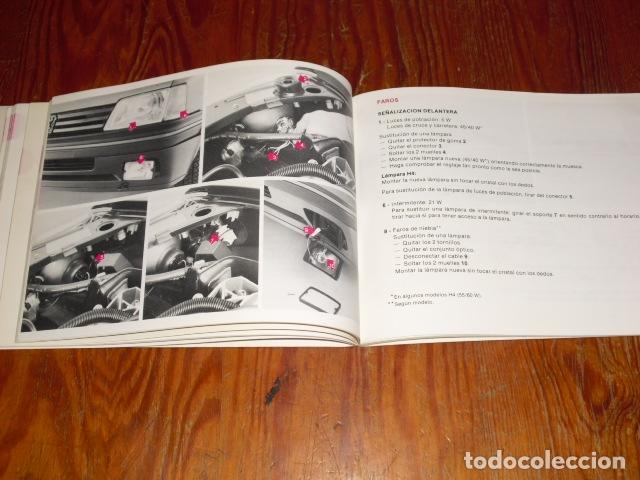 Coches y Motocicletas: PEUGEOT 305 - MANUAL MANTENIMIENTO - 1979 - - Foto 6 - 175796225