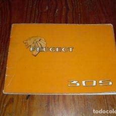 Coches y Motocicletas: PEUGEOT 305 - MANUAL MANTENIMIENTO - 1979 -. Lote 175796225