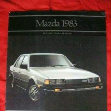 Coches y Motocicletas: CATÁLOGO GAMA MAZDA . USA . 1983 -GLC (323), 626, RX7 / RX-7, TRUCKS-. Lote 175920167