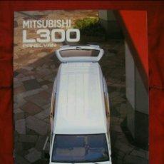 Coches y Motocicletas: CATÁLOGO MITSUBISHI L300 / L 300 . 1999. Lote 175942667