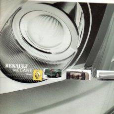 Coches y Motocicletas: RENAULT MEGANE SPORT SEDAN ACCESORIOS/EQUIPAMIENTOS. AGOSTO 2003. Lote 176086614