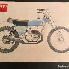 Voitures et Motocyclettes: BULTACO PURSANG MK7 250 - LAMINA ANUNCIO PAGINA RECORTE REVISTA ALGO AÑOS 70 ORIGINAL - NO CATALOGO. Lote 176135784