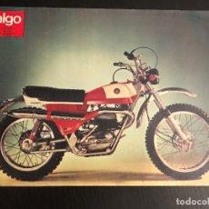 Voitures et Motocyclettes: BULTACO EL MONTADERO LAMINA ANUNCIO PAGINA RECORTE REVISTA ALGO AÑOS 70 ORIGINAL NO CATALOGO MANUAL. Lote 176135880