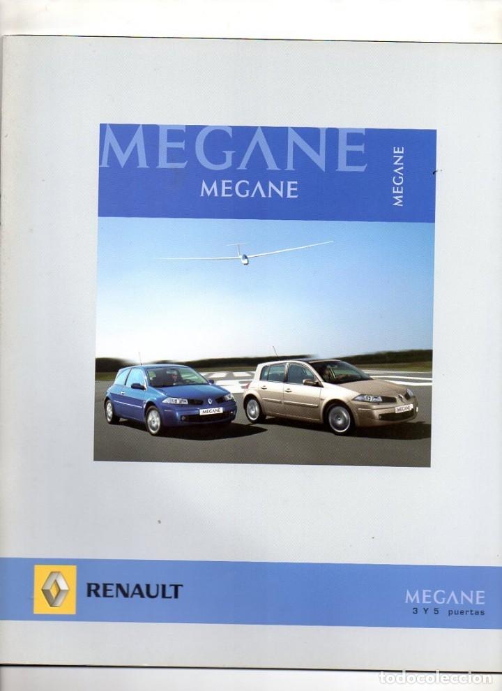 CATALOGO RENAULT MEGANE 3 Y 5 PUERTAS JUNIO 2007 (Coches y Motocicletas Antiguas y Clásicas - Catálogos, Publicidad y Libros de mecánica)
