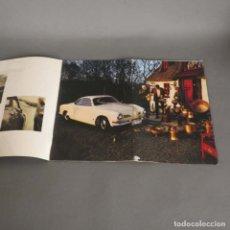 Coches y Motocicletas: FOLLETO DE VENTAS DEL VOLKSWAGEN KARMANN GHIA. 1969 (BRD). Lote 176300814