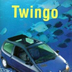 Coches y Motocicletas: CATALOGO RENAULT TWINGO NOVIEMBRE 1997. Lote 176390525