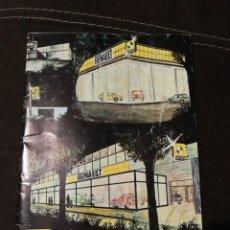 Coches y Motocicletas: RENAULT, RED DE SERVICIOS 1977.. Lote 176522072