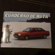Coches y Motocicletas: CATÁLOGO, CUADERNO DE RUTA RENAULT 21. Lote 176522622