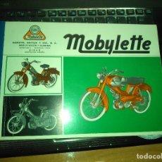 Carros e motociclos: MANUAL ORIGINAL PIEZAS RECAMBIO MOTO CICLOMOTOR MOBYLETTE GAC AÑOS 60. Lote 176532632
