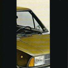 Coches y Motocicletas: INNOCENTI 90L 120L EN ESPAÑOL, CATÁLOGO 8 PÁGINAS 1976. Lote 176586843