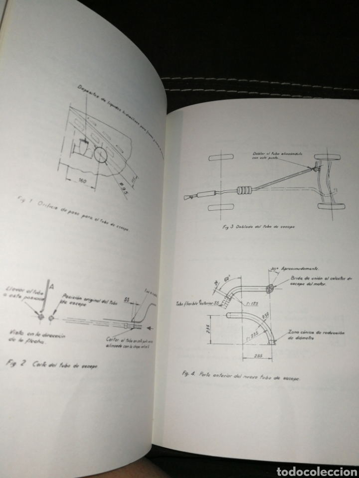 Coches y Motocicletas: PERKINS, MANUAL INSTRUCCIONES PARA SEAT 1500,AÑO 1965. - Foto 3 - 176609784