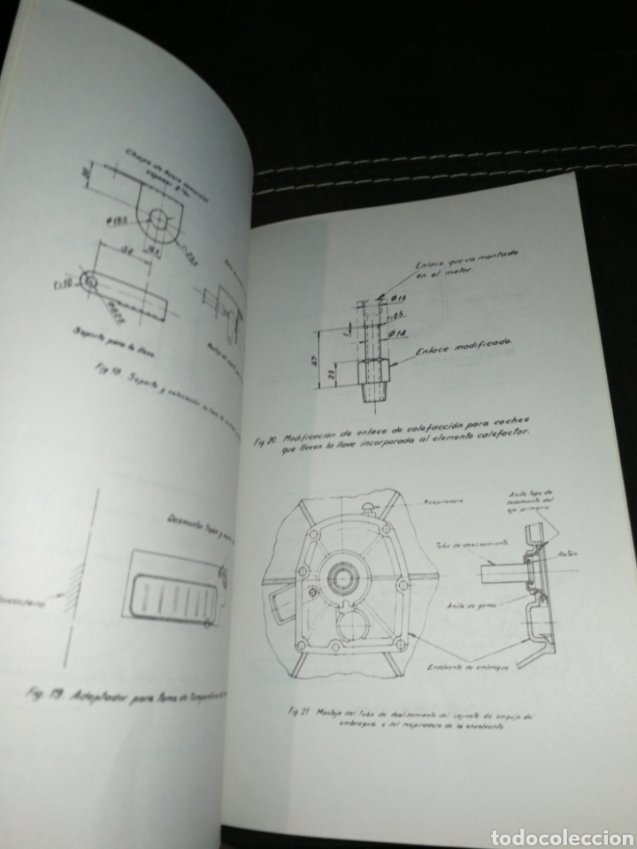 Coches y Motocicletas: PERKINS, MANUAL INSTRUCCIONES PARA SEAT 1500,AÑO 1965. - Foto 4 - 176609784