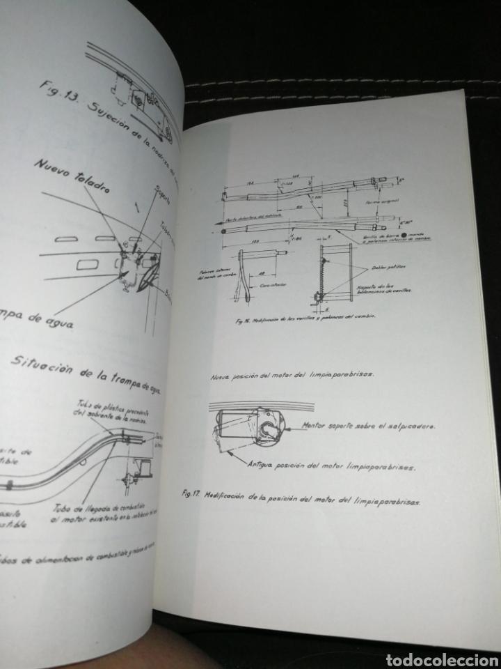 Coches y Motocicletas: PERKINS, MANUAL INSTRUCCIONES PARA SEAT 1500,AÑO 1965. - Foto 5 - 176609784