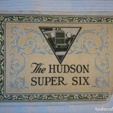Coches y Motocicletas: CATÁLOGO THE HUDSON SUPER SIX. Lote 176688568