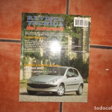 Coches y Motocicletas: REVISTA TECNICA DEL AUTOMOVIL Nº 81,2000,PEUGEOT 206,MOTORES GASOLINA1.1-1.4-1.6. Lote 176799129