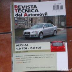 Voitures et Motocyclettes: REVISTA TECNICA DEL AUTOMOVIL Nº 156 2007,AUDI A4 1.9 TDI-2.0 TDI. Lote 176802813